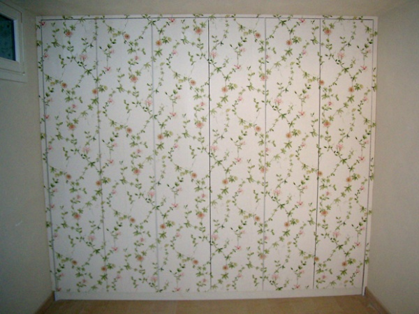 Carta da parati lucca carte tessuto per pareti toscana - Rivestire mobili con carta da parati ...